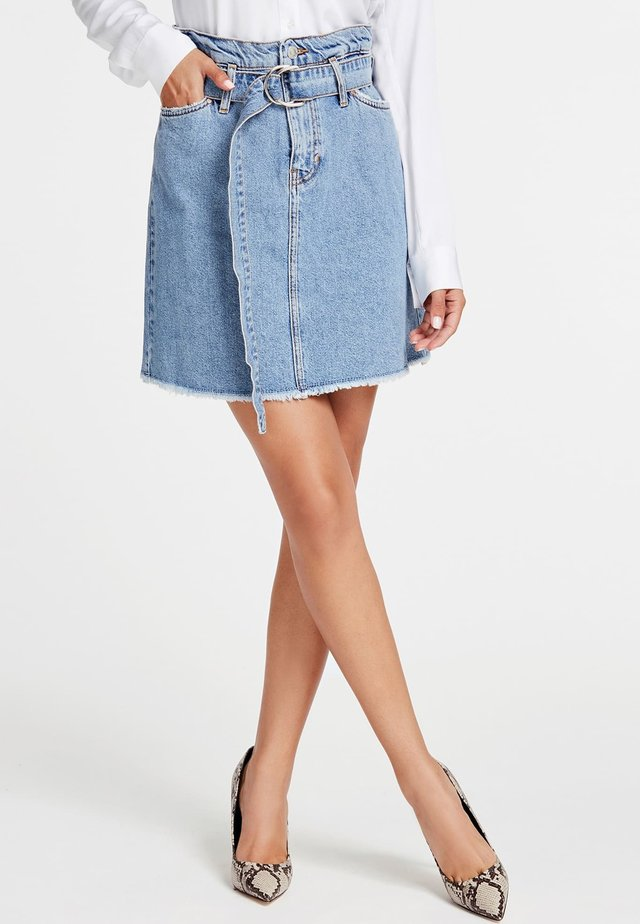 Spódnica jeansowa - light blue