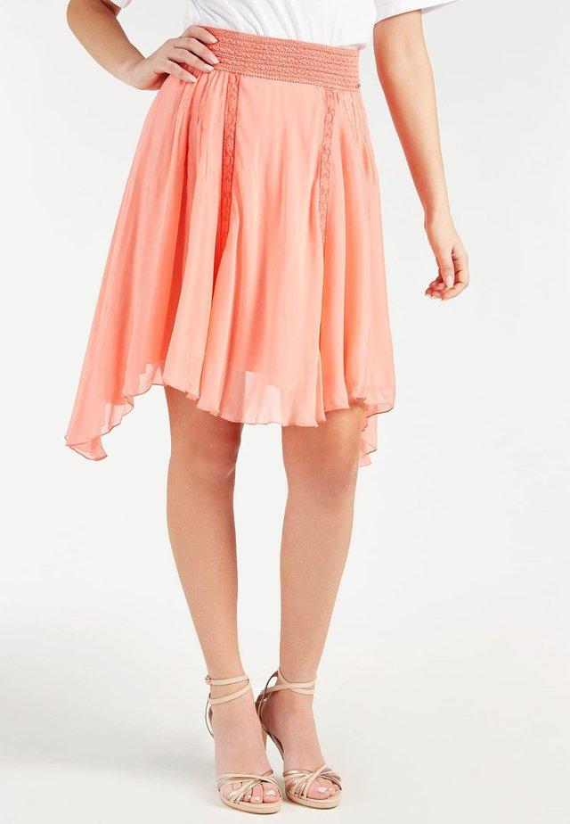 Spódnica trapezowa - rose