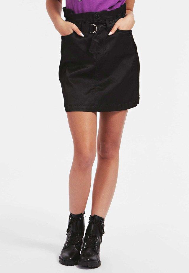 Spódnica trapezowa - schwarz