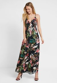 Guess - PAULA DRESS - Maxi-jurk - flower bush pink com - 0