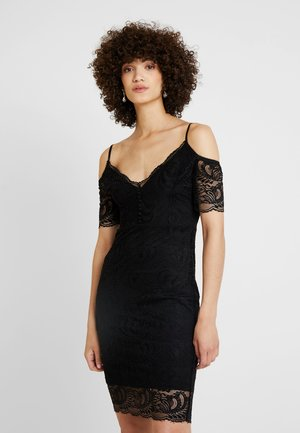 DAVINA DRESS - Koktejlové šaty/ šaty na párty - jet black