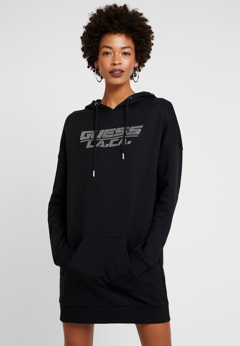 Guess - DRESS - Denní šaty - jet black