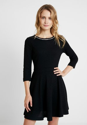 ORNELLA - Day dress - jet black