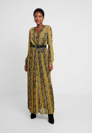 MAYA DRESS - Maxi dress - yellow combo