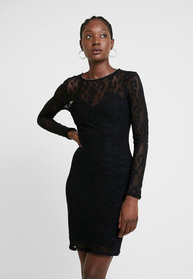 OLIVIA DRESS - Etuikleid - jet black