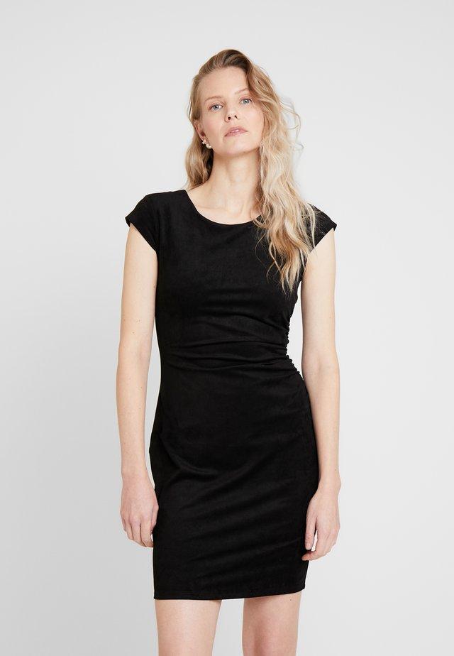 ESTELLE DRESS - Etui-jurk - jet black
