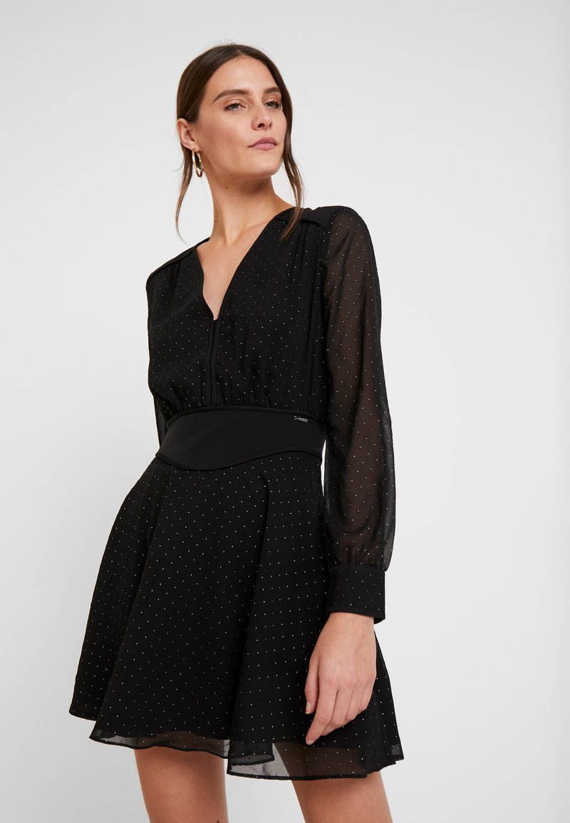 Guess - ISRA DRESS - Denní šaty - jet black