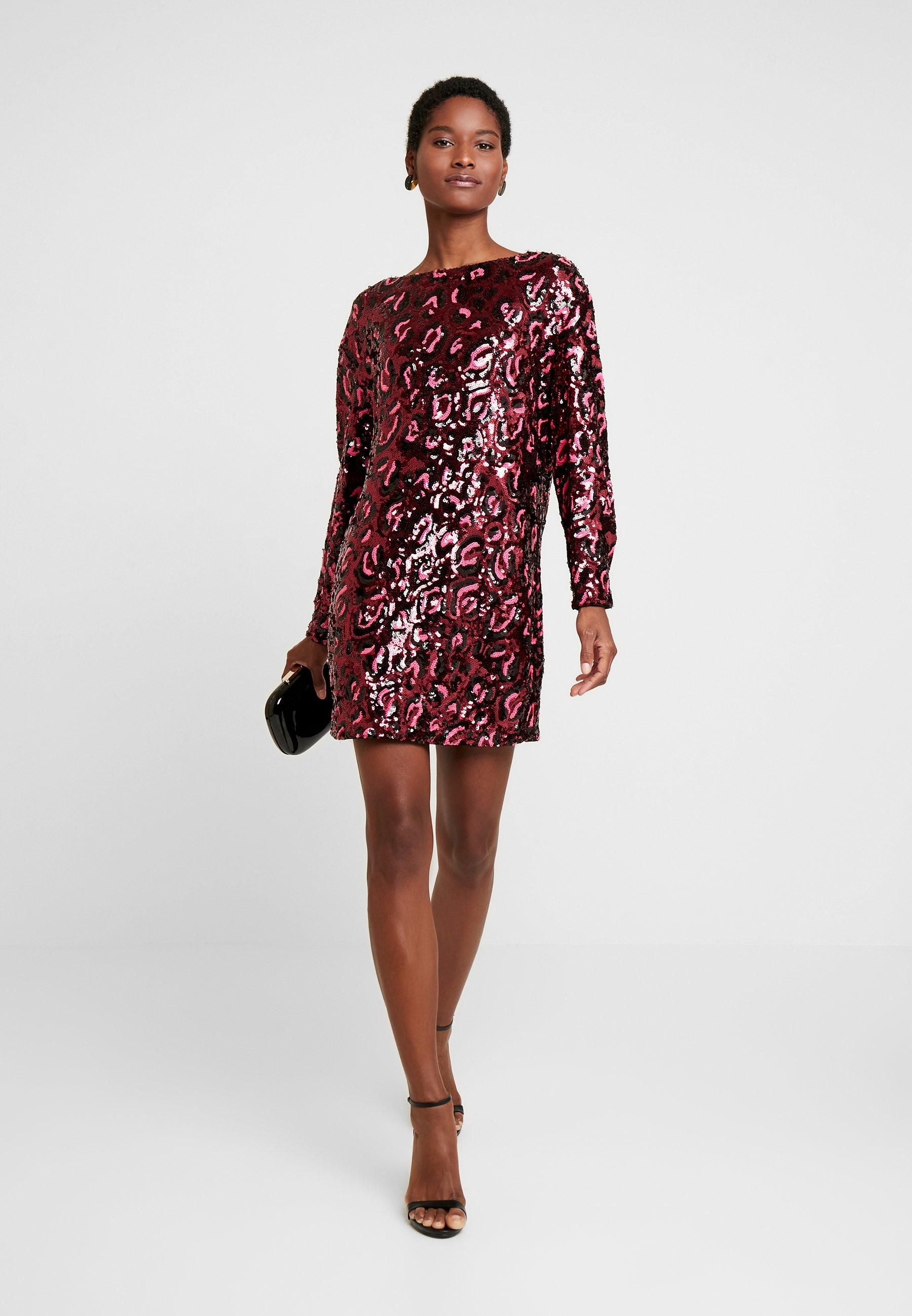 Guess Kalila Dress - Cocktailklänning Burgundy