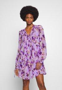 Guess - CORNELIA DRESS - Day dress - purple - 0