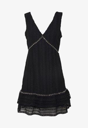 LEANDRA DRESS - Koktejlové šaty/ šaty na párty - jet black