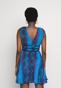 Guess - GINNY DRESS - Day dress - python rock blue - 3