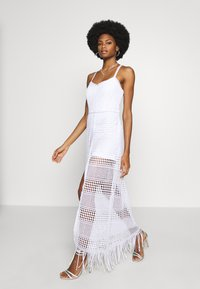 Guess - EMELY DRESS - Maxikjole - blanc pur - 1