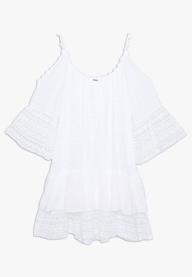DALILA DRESS - Korte jurk - blanc pur