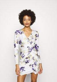 Guess - ANTHEA DRESS - Shift dress - watercolor flowers - 0