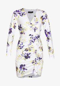 Guess - ANTHEA DRESS - Shift dress - watercolor flowers - 4