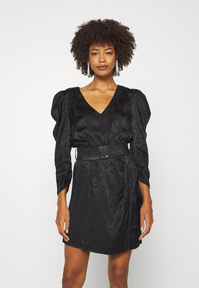MAURIZIA DRESS - Korte jurk - jet black