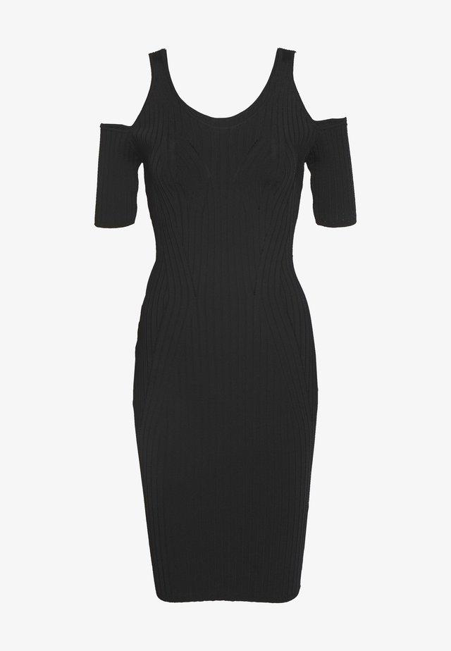 JESSICA DRESS - Sukienka etui - jet black