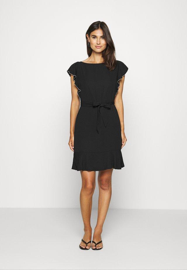 JUANA DRESS - Korte jurk - jet black
