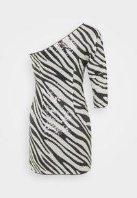 Guess - FLORENCE DRESS - Vestito elegante - black/white - 1