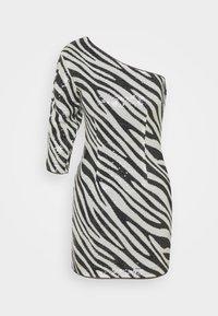 Guess - FLORENCE DRESS - Vestito elegante - black/white - 0