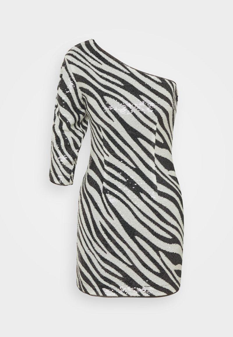 Guess - FLORENCE DRESS - Vestito elegante - black/white