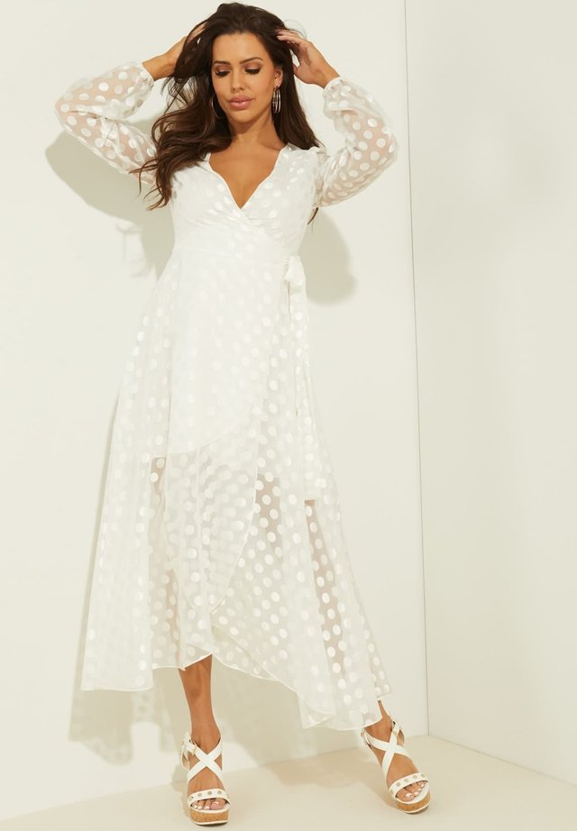 BERTHA - Długa sukienka - mehrfarbig, weiß