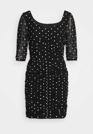 LUCE DRESS - Robe fourreau - black