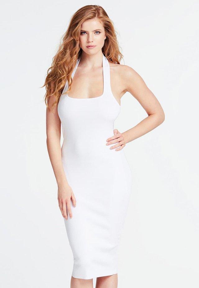 BODYCON-KLEID VISKOSEMIX - Etuikleid - white