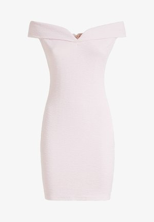CRÊPE-KLEID - Shift dress - rose