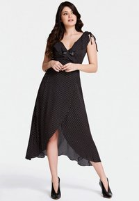Guess - GUESS KLEID VOLANTS - Day dress - schwarz - 0