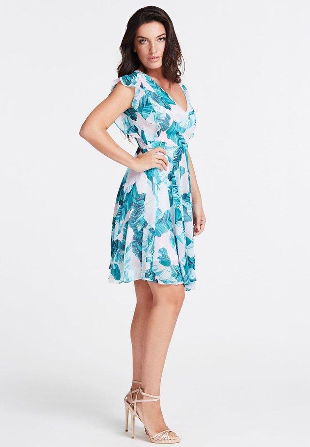GUESS KLEID BLUMENPRINT - Korte jurk - blumenmuster