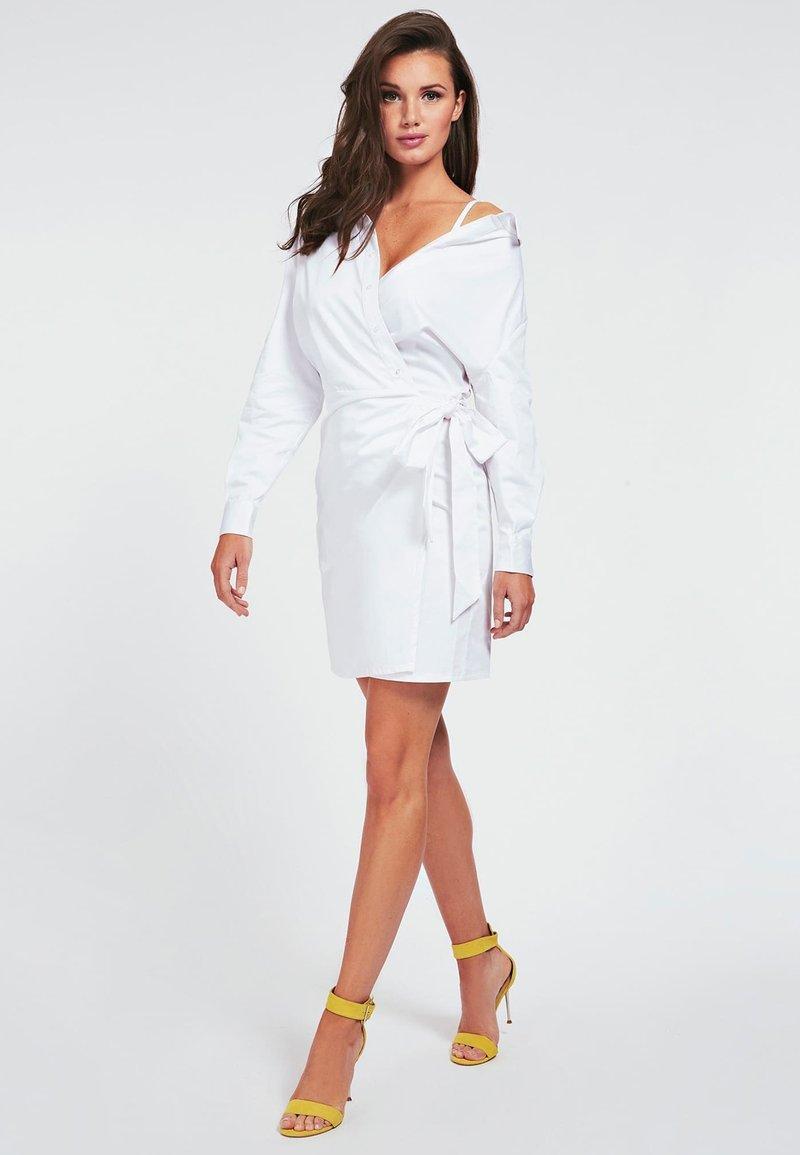 Guess - Korte jurk - blanc
