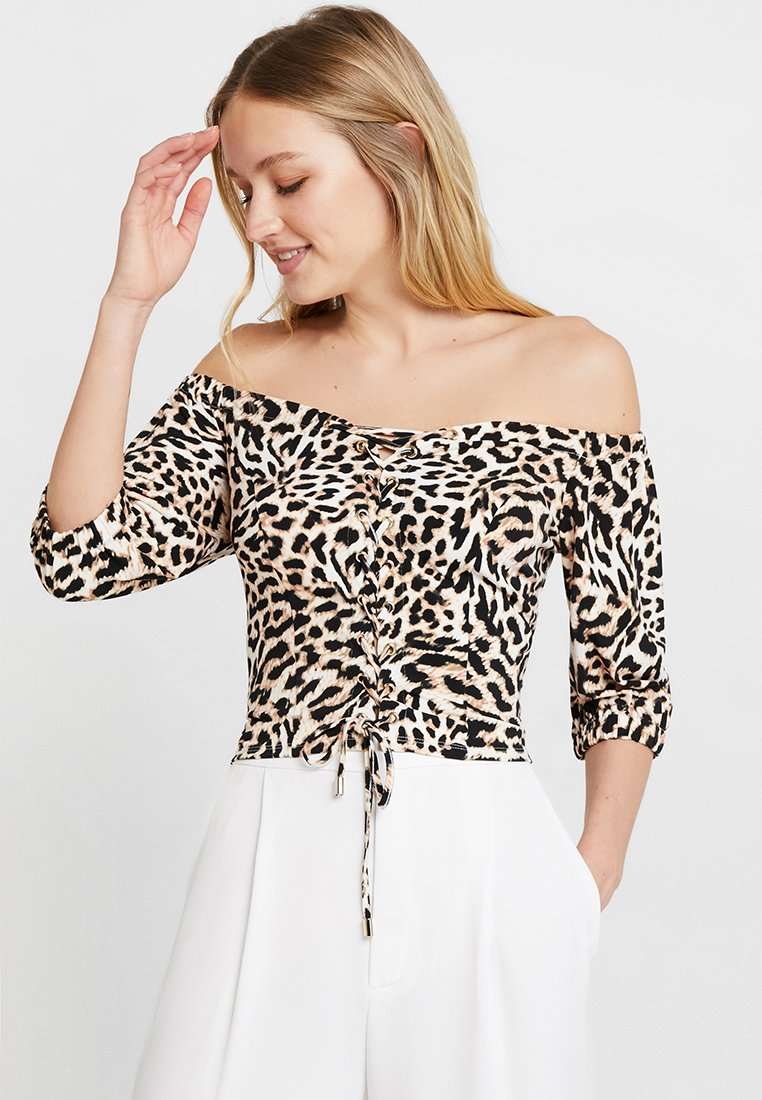 Guess - FRANCESCA - Bluse - beige/brown