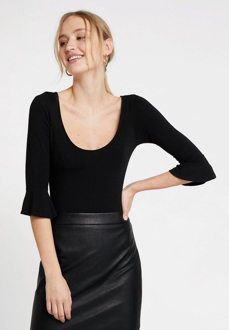 Guess - JANNET BODY - Long sleeved top - jet black