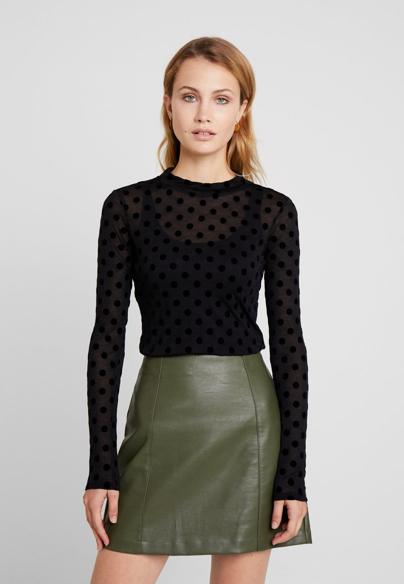 Guess - ALANIS - Long sleeved top - black
