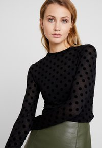 Guess - ALANIS - Long sleeved top - black - 3