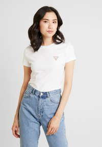 Guess - Camiseta básica - true white - 0