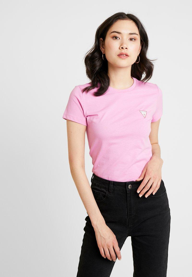 Guess - T-Shirt basic - pink chance