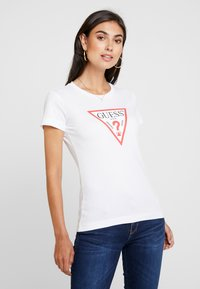 Guess - ICON - T-shirt con stampa - true white - 0