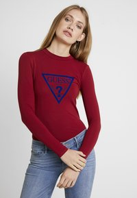 Guess - KUMIKO - Camiseta de manga larga - russian red - 0