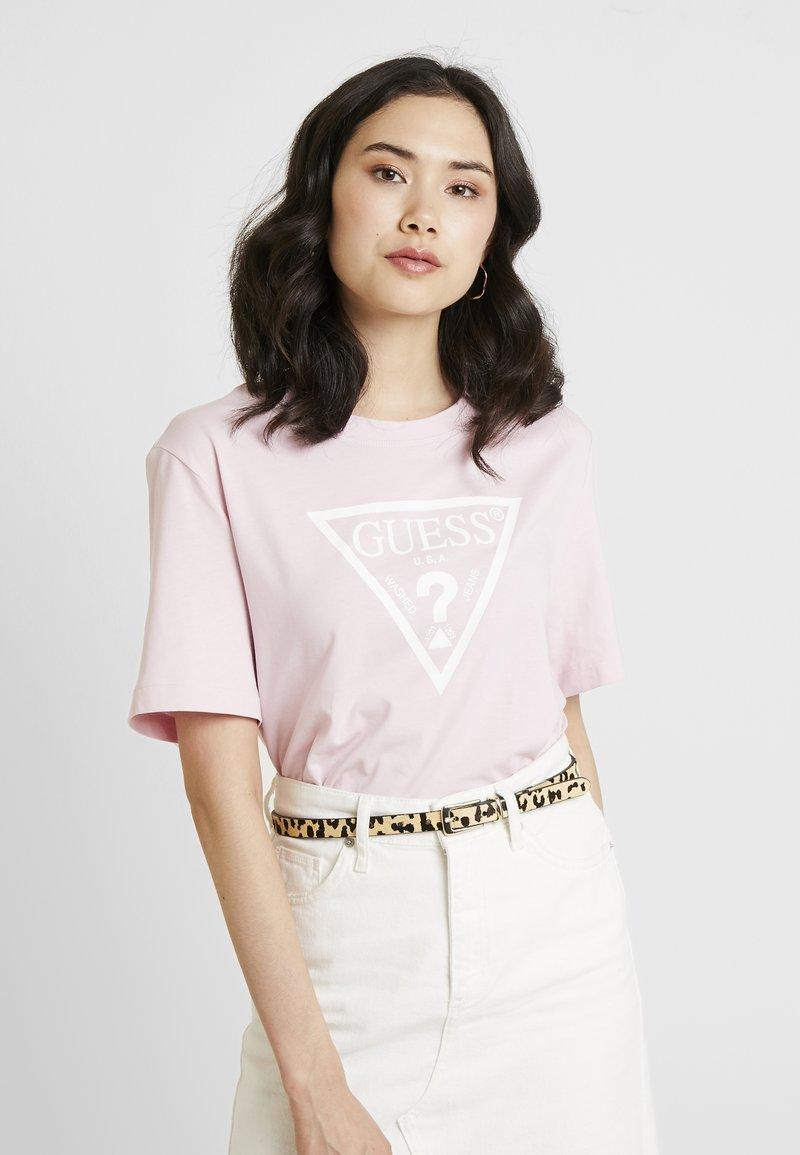Guess - T-Shirt print - alabaster pink