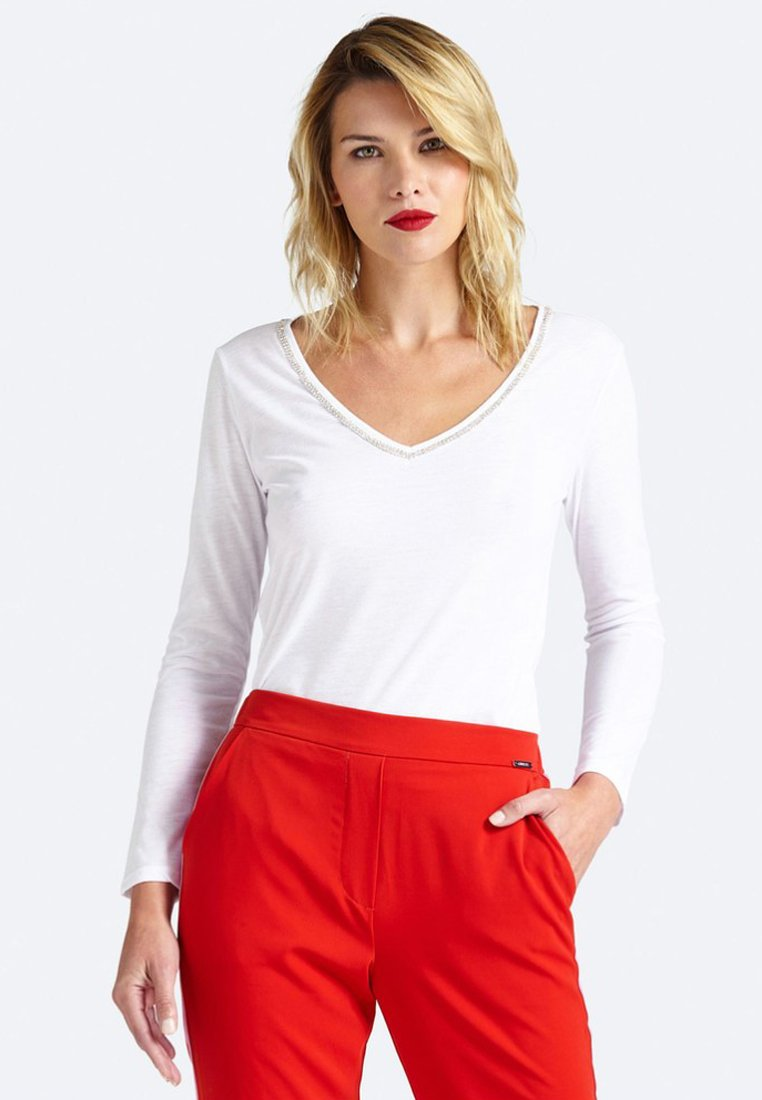 Guess - Long sleeved top - white