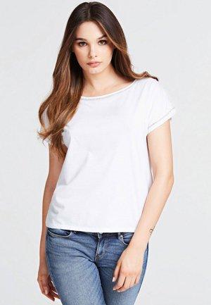 SCHMUCKAPPLIKATIONEN - Print T-shirt - white