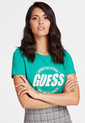 SS CN ROXY TEE - T-shirt print - green