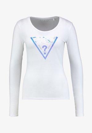 SUMMER LOGO - Long sleeved top - true white