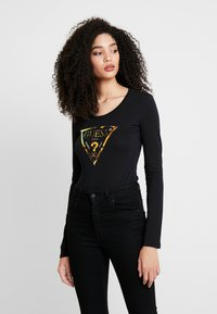 Guess - SUMMER LOGO - Longsleeve - jet black - 0