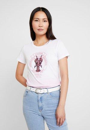 LOBSTER - T-shirt imprimé - rose wave