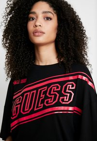 Guess - FRANZI BODY - T-Shirt print - black - 4