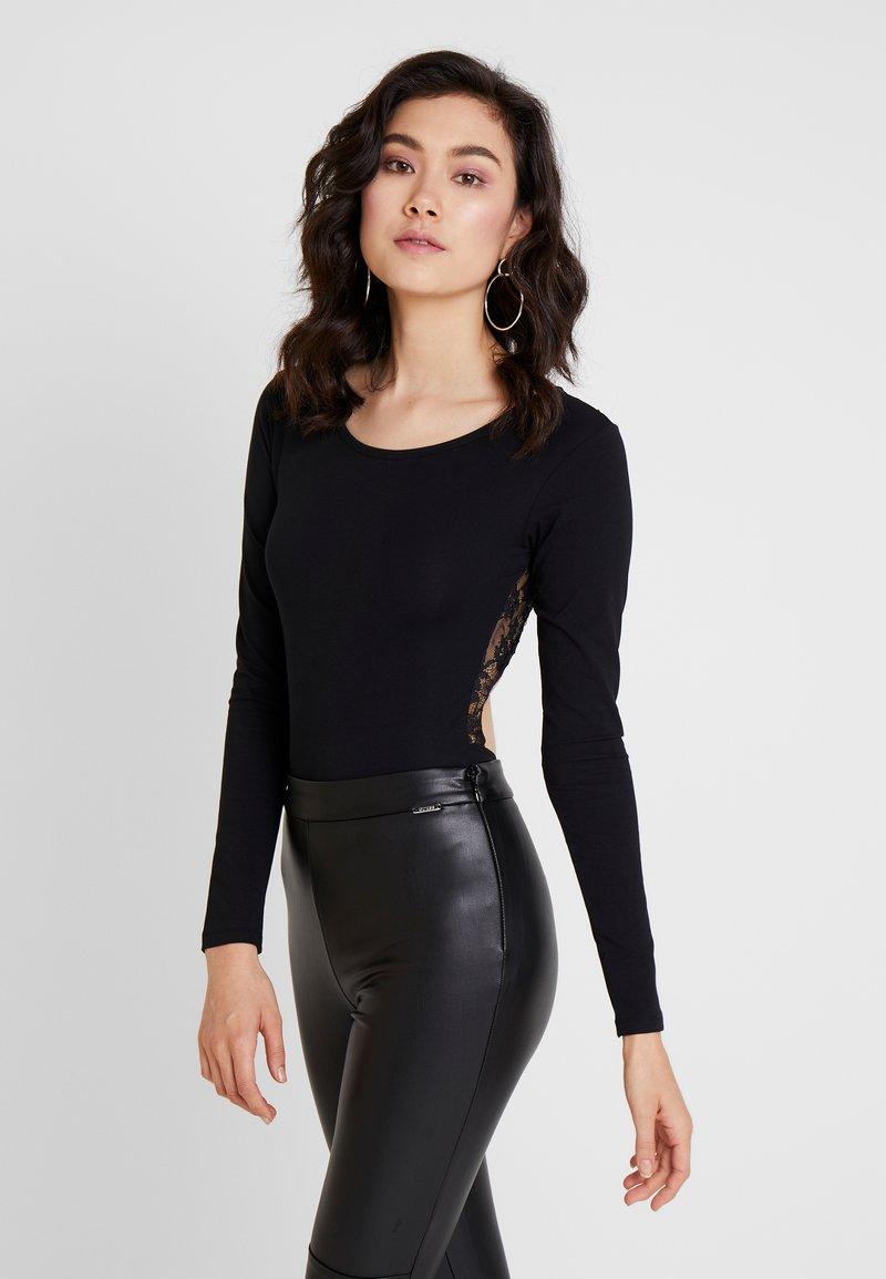 Guess - T-shirt à manches longues - jet black
