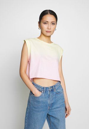 SUNRISE TEE - Topper - pink